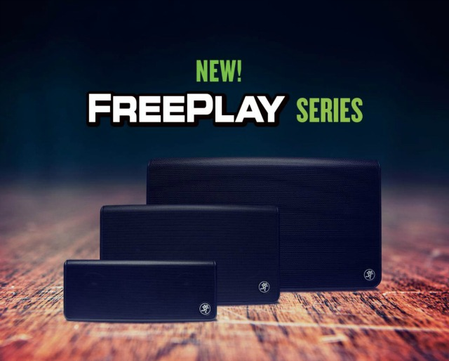 Mackie Announces Expanded FreePlay Series