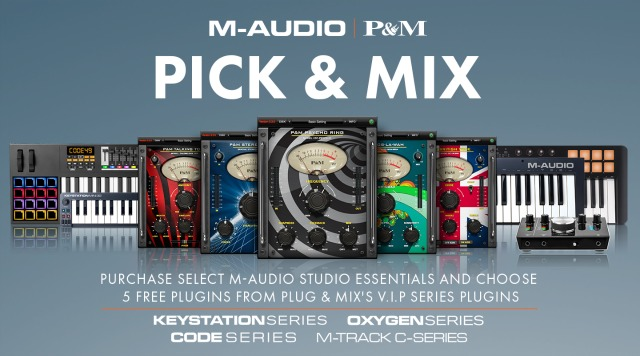 Free Plug-Ins With M-Audio Hardware