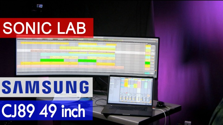Sonic LAB: Samsung CJ 89 - 49 Inch Curved Monitor With USB-C