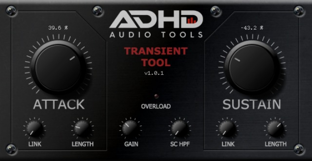 New Transient Shaping Plug-In