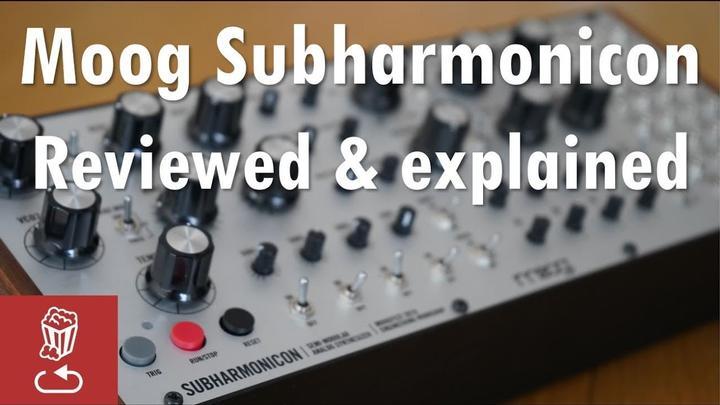A Good Look At The Moog Subharmonicon