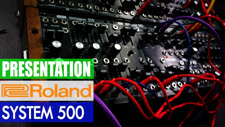 Presentation: Roland System 500 New Analogue Modules