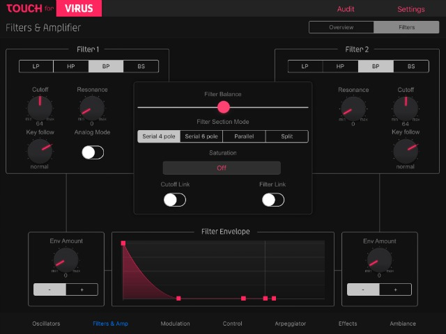 iPad Editor For Your Access Virus TI