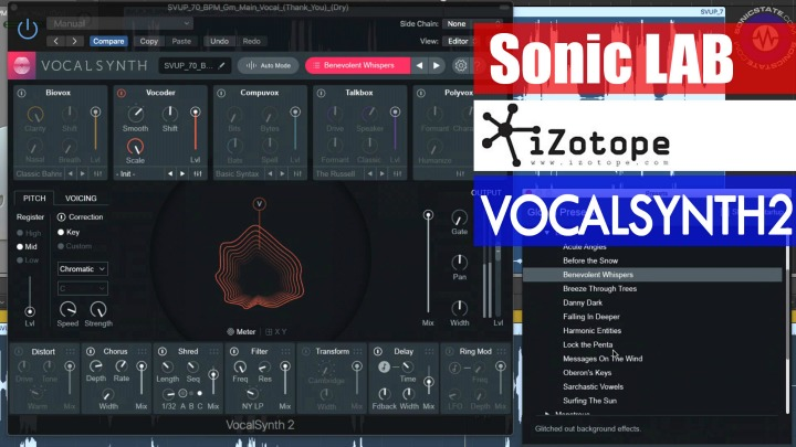 Sonic LAB: iZotope VocalSynth2 Demo