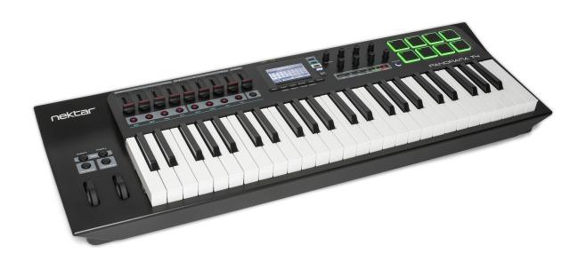 New Nektar MIDI Controller Keyboards