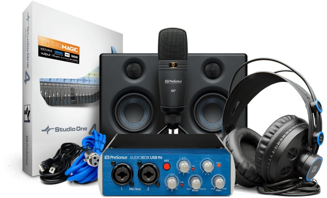 Complete PreSonus Recording Solution
