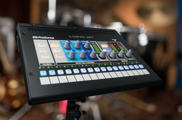 PreSonus Personal Monitor Mixer Now Available