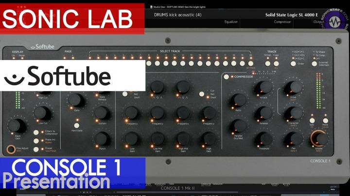 Presentation: Softube Console 1 Mix Controller