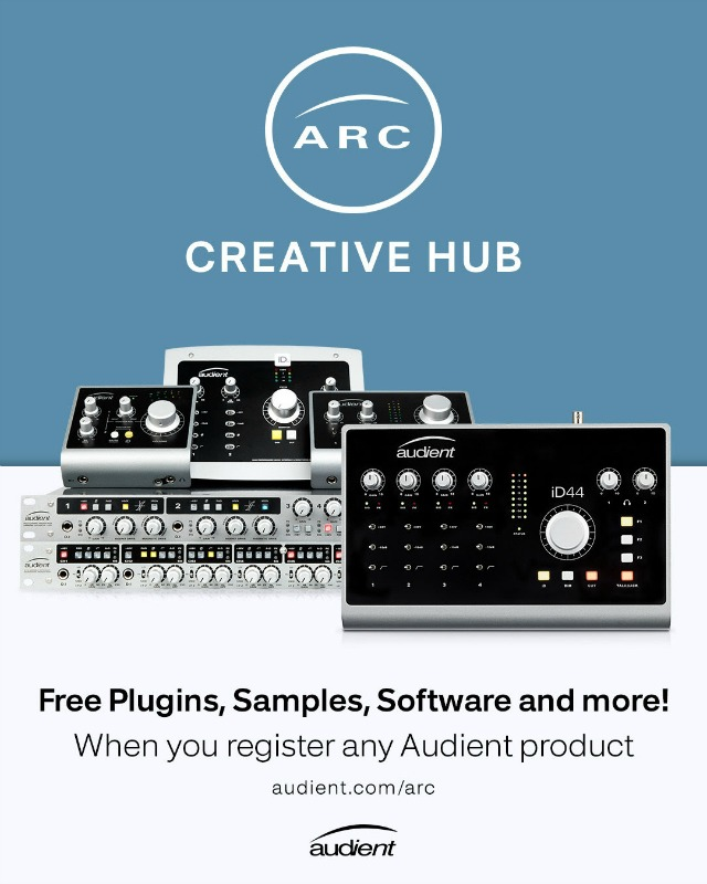 Free Creative Software For Audient Users