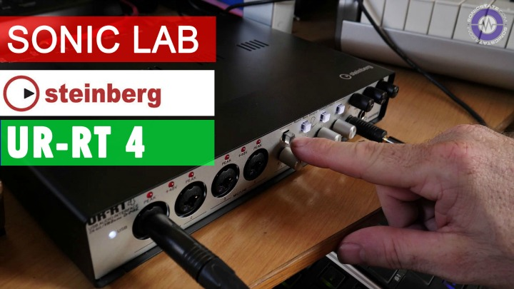 Sonic LAB: Steinberg UR-RT4 Audio With Neve Transformers
