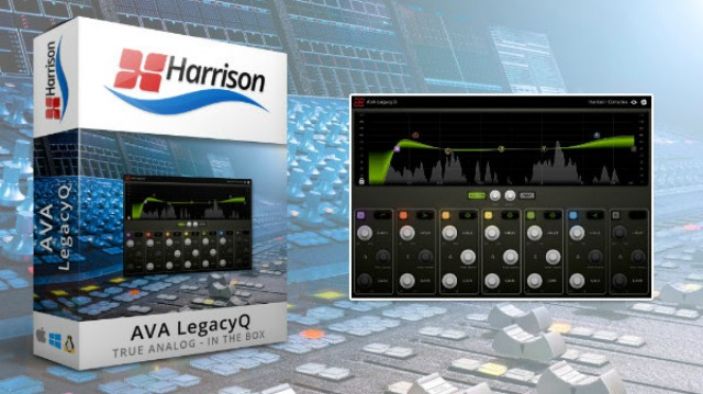 Harrison's Original MPC Digital EQ Recreated