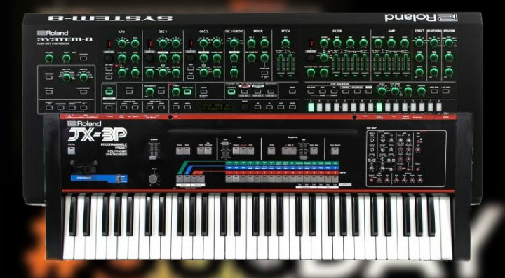 Roland Add JX-3P To System-8 With OS 1.30