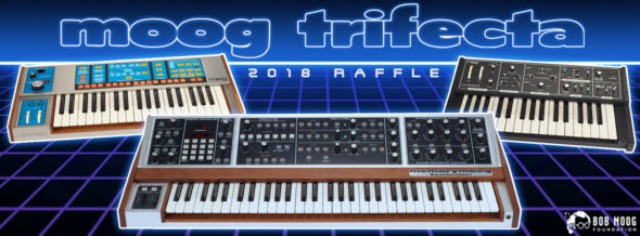 Three Restored Vintage Moogs Up For Grabs