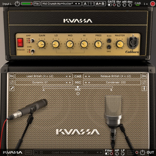 New Amp Sim Inspired By Marshall