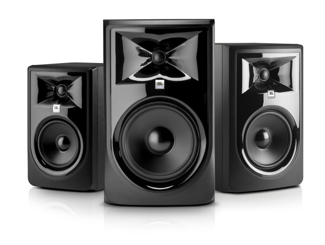 Revamped JBL Monitors Ship