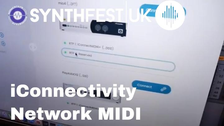 Synthfest 2018: iConnectivity Show New Network MIDI Features