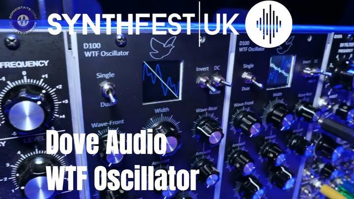 Synthfest 2018: Dove Audio WTF Oscillator In MU Format