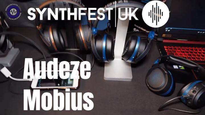 Synthfest 2018: Audeze Mobius Head Tracking Headphones Shipping