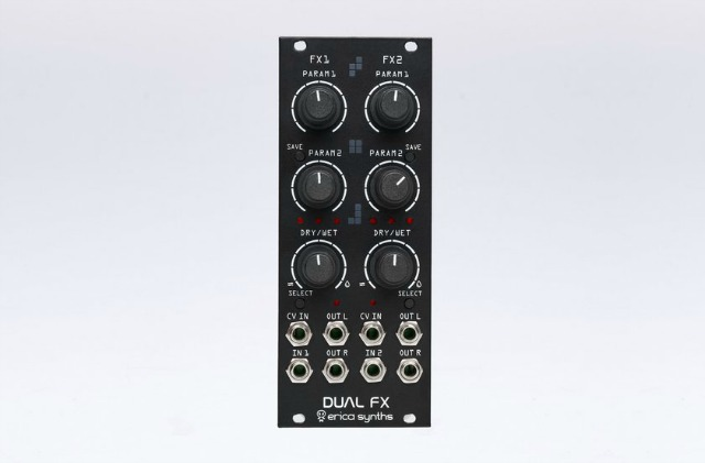 Erica Synths Release Dual FX Module