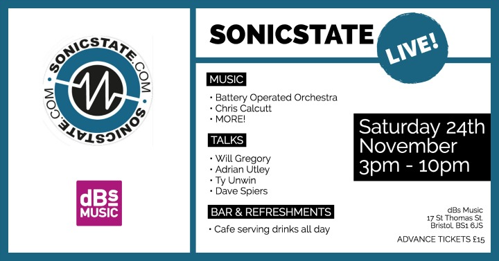 Sonicstate Live @dBS Music Bristol - 24th November
