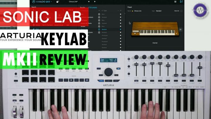 Sonic LAB: Arturia Keylab MKII MIDI Controller