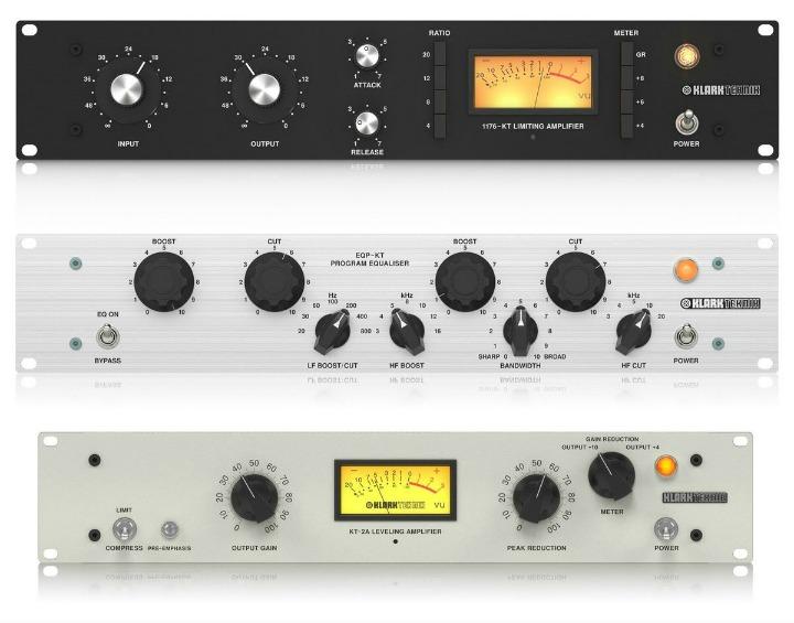 Klark Technik's Affordable 1176, LA 2A And Pultec Remakes