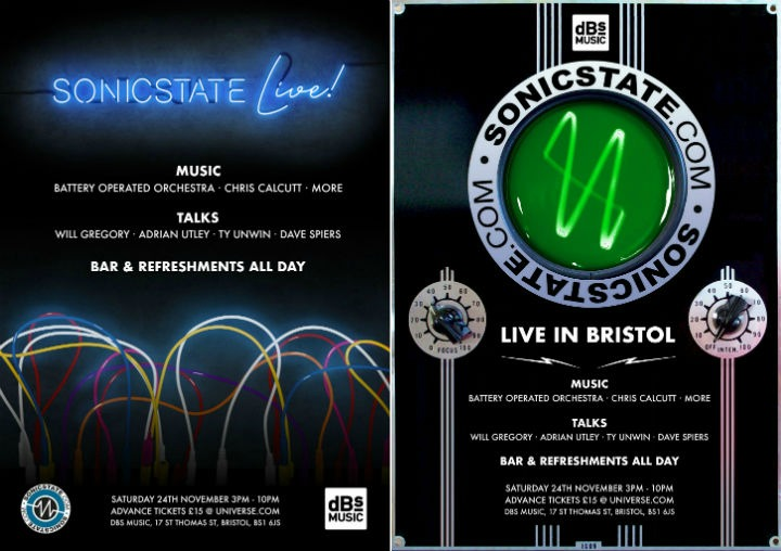 Updates: Sonicstate Live Event @dBs Music Bristol 24th November