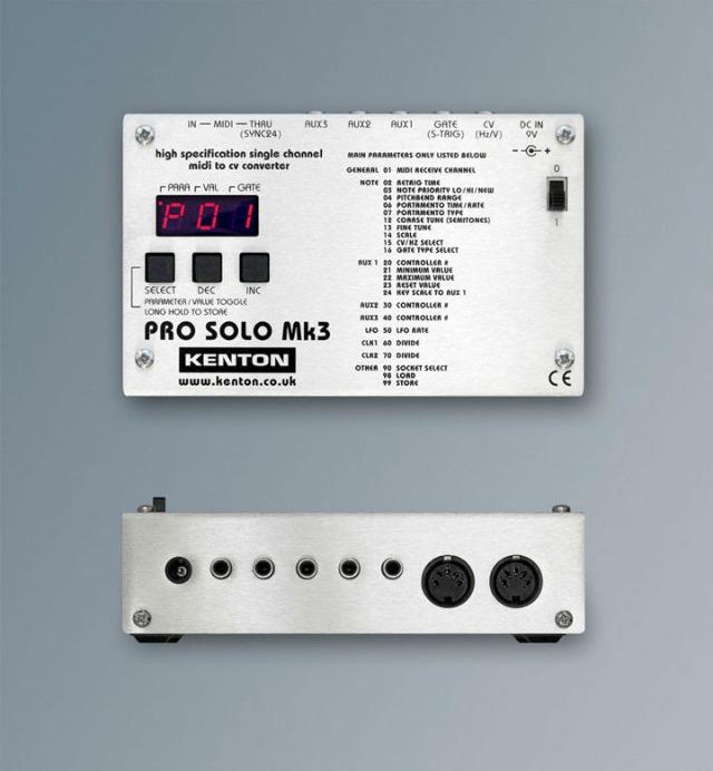 Kenton Announces PRO SOLO Mk3