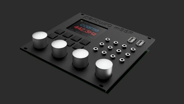 Percussa Kickstarts mSSP Eurorack Module