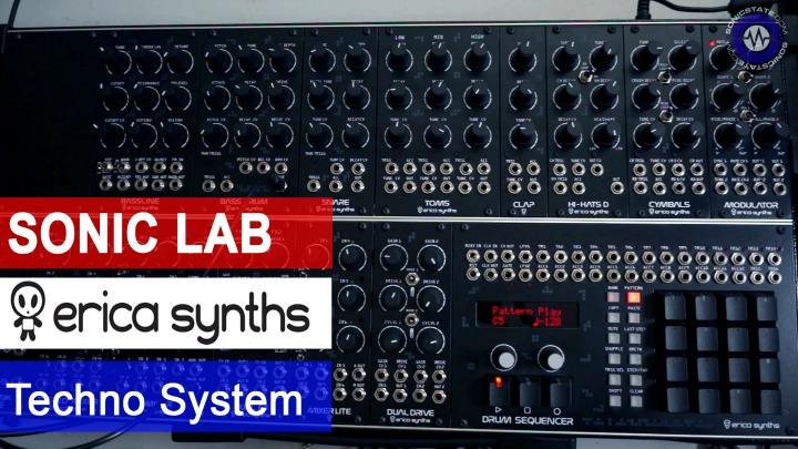 Sonic LAB: Erica Synths Modular Techno System