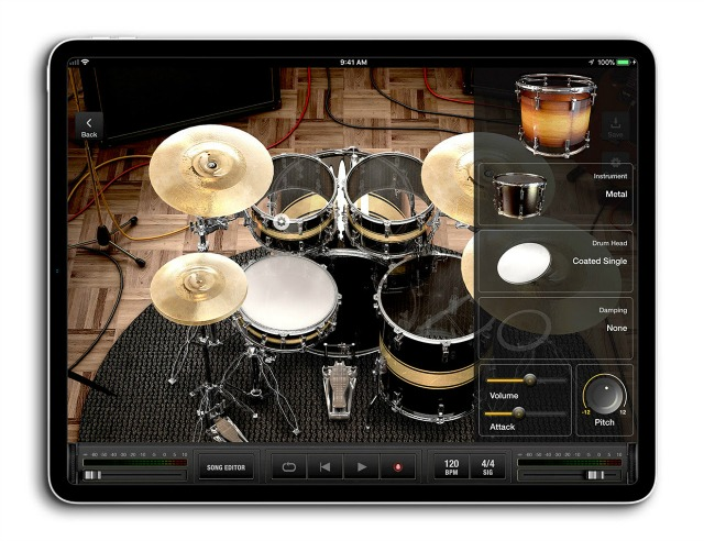 Free Drum Track Builder For iPad