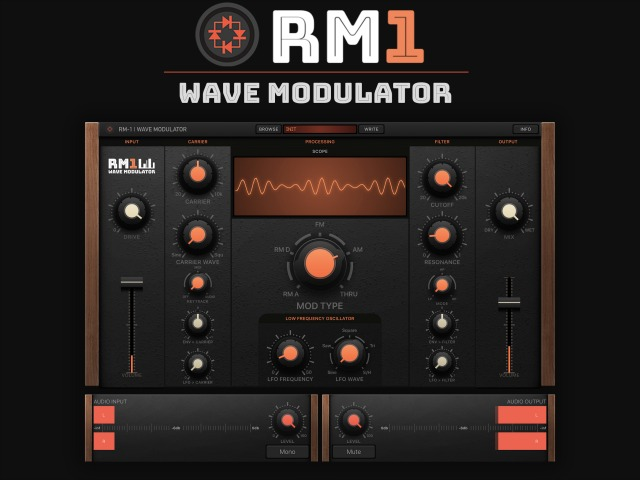 Ring Modulation For Your iPad