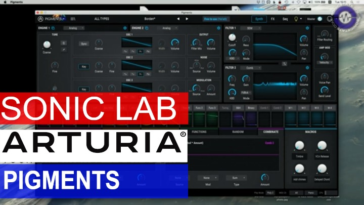 Sonic LAB: Arturia Pigments Wavetable Synthesizer