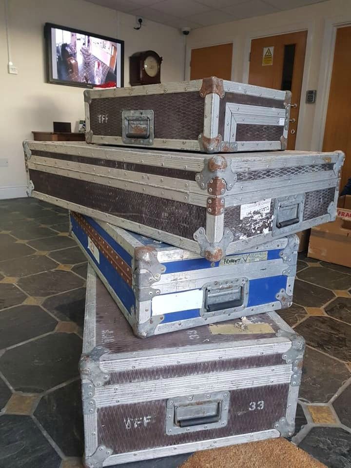 Boxes of Behringer