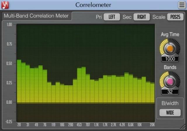 Free Multi-Band Correlation Meter