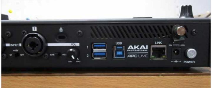 Akai APC Live reaer