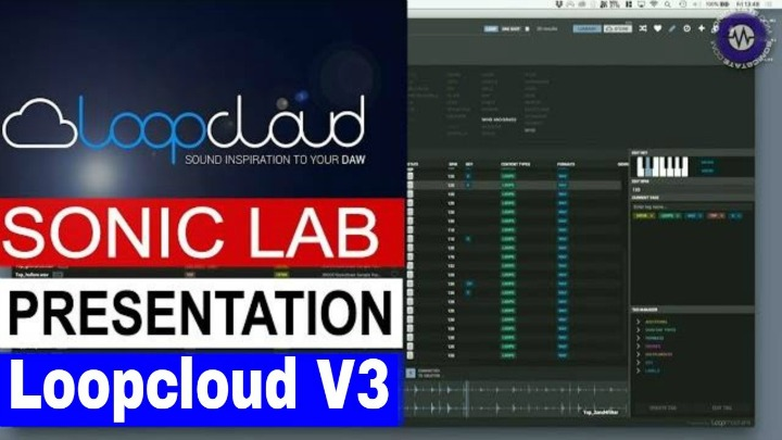 Presentation: Loopcloud V3 - Now Add Your Own Samples