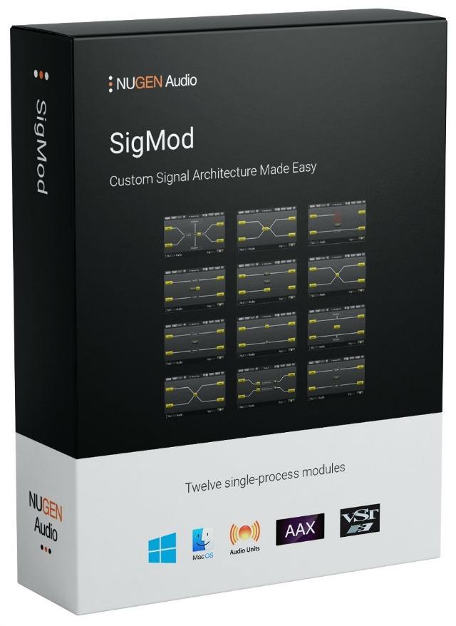 NUGEN SigMod Update Adds VST3 Hosting