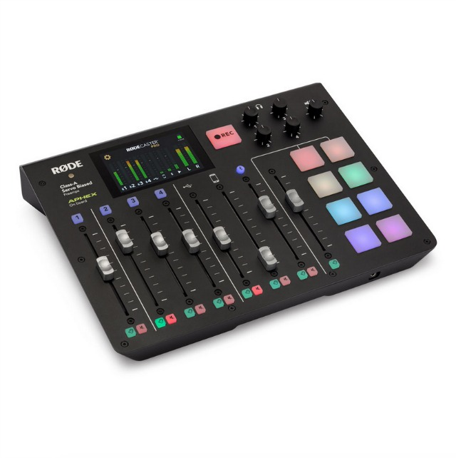 NAMM 2019: RØDECaster Pro Goes Multitrack