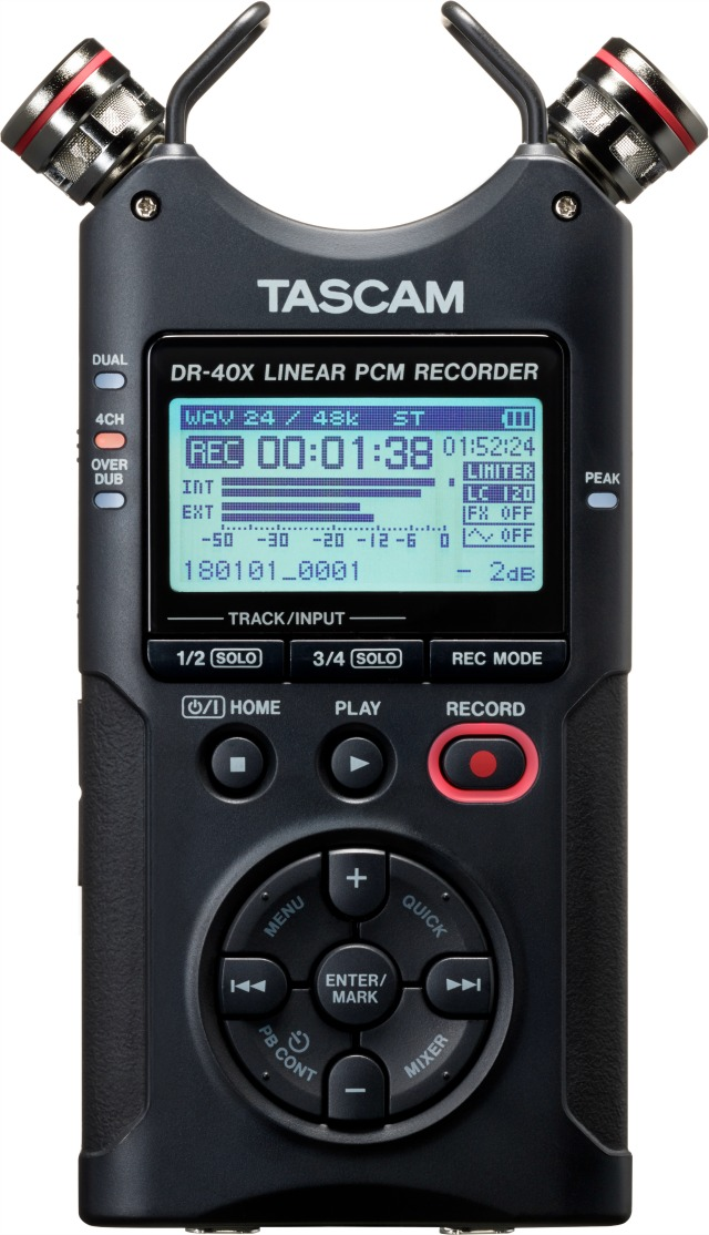 NAMM 2019: Three New TASCAM Handheld Digital Recorders