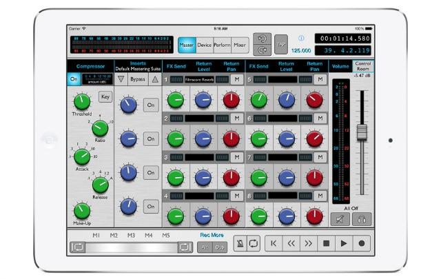 More iPad Control Over Reason