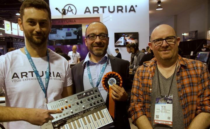 Arturia NAMM 19 Winners