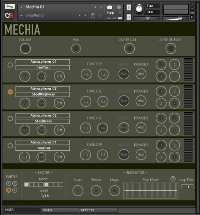 Melodic Drone Engine For Kontakt
