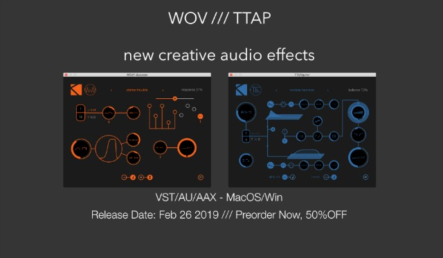 First VST/AU/AAX Plug-ins For K-Devices
