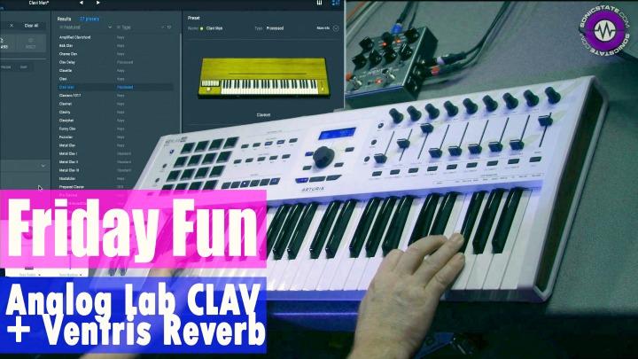 Friday Fun: Clavinet and Ventris Jam