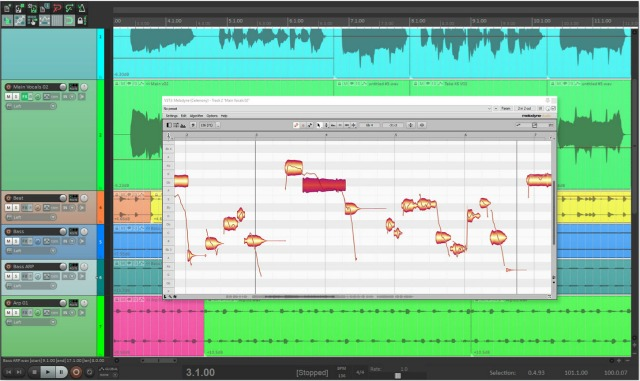 Streamlined Workflow Using Melodyne & Reaper