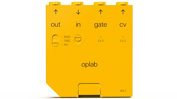 Teenage Engineering Release OPLAB CV Module for OP-Z