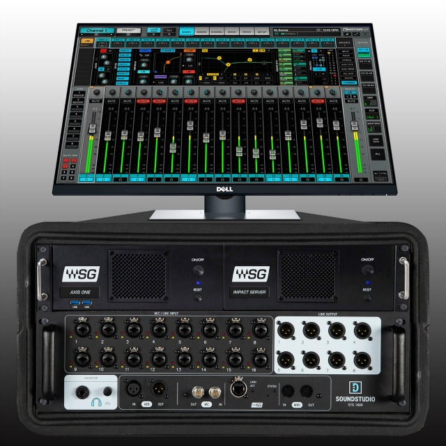 Waves eMotion LV1 Complete Live Mixing System