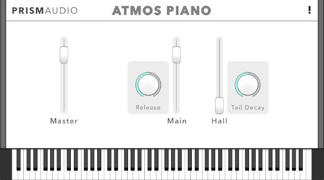 Thunder virtual piano