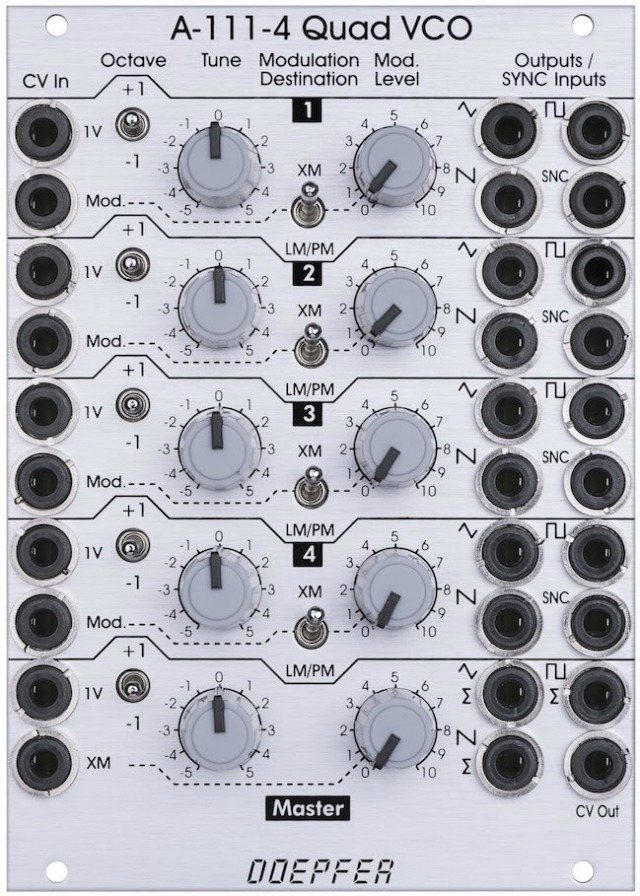 Five New Doepfer Eurorack Modules